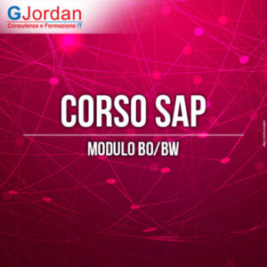 corso sap business intelligence bo bw